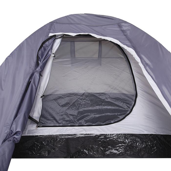 Палатка туристическая MALI, 2-х местная, цвет серый