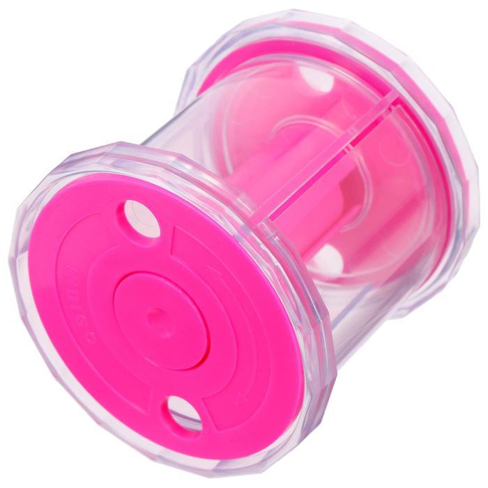 Катушка для лент художественной гимнастики, цвет розовый