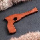 """Сувенир деревянный """"Револьвер"""", массив бука, 25 см"""