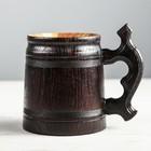 """Кружка пивная деревянная """"Келлербир"""", 0,3 л"""
