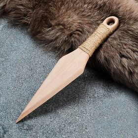 """Сувенирное деревянное оружие """"Клинок"""", 30 см, массив бука"""