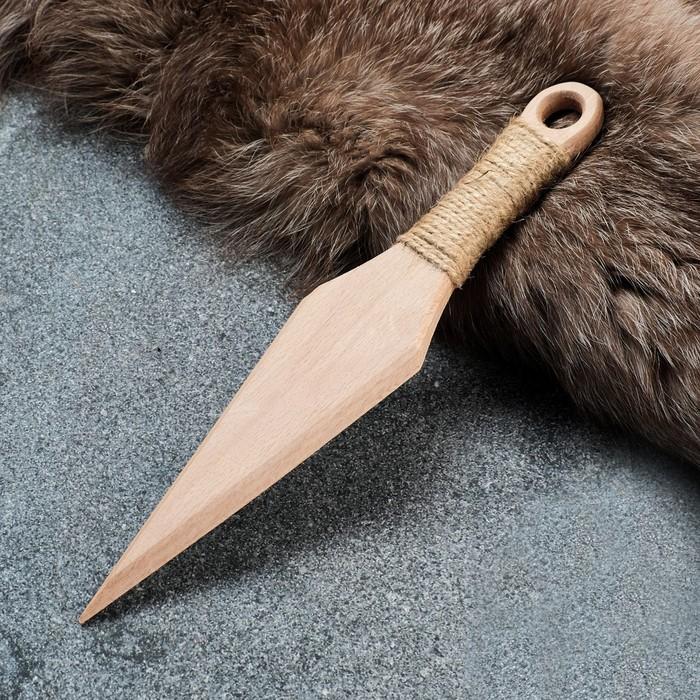 """Сувенир деревянный """"Клинок"""", 30 см, массив бука"""