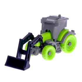 "Constructor ""Construction loader"", 9 parts, MIX color"