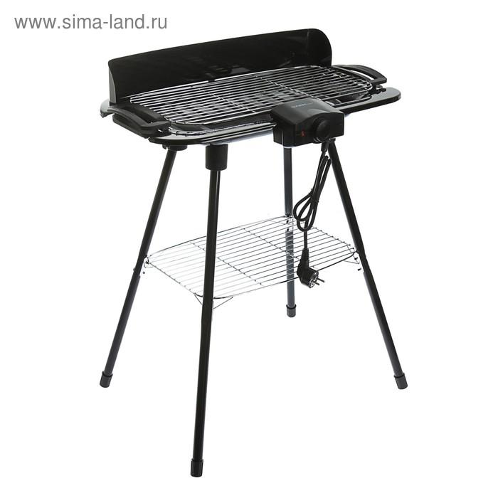 Электрогриль-барбекю FIRST FA-5350, 2000 Вт, съемные ножки 62 см, черный