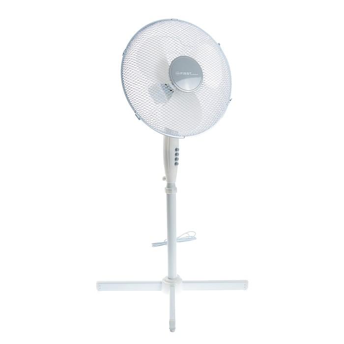 Вентилятор FIRST FA-5553-1, напольный, 50 Вт, 40 см, 3 режима, белый