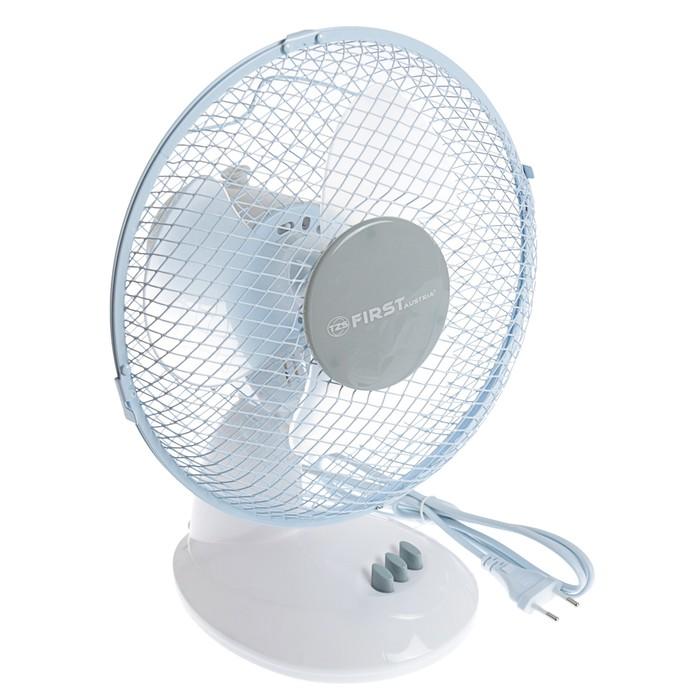 Вентилятор FIRST FA-5550-GR, настольный, 20 Вт, 23 см, 2 скорости, серый
