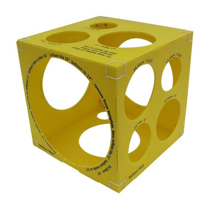 """Кубический калибратор на 3"""" – 14"""", цвет жёлтый"""