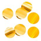 """Наполнитель для шара """"Конфетти круг"""" 4 см, фольга, цвет золотой, 500г"""