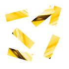 """Наполнитель для шара """"Конфетти прямоугольник"""" 5 см, фольга, цвет золотой, 500г"""
