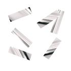 """Наполнитель для шара """"Конфетти прямоугольник"""" 5 см, фольга, цвет серебро, 500г"""