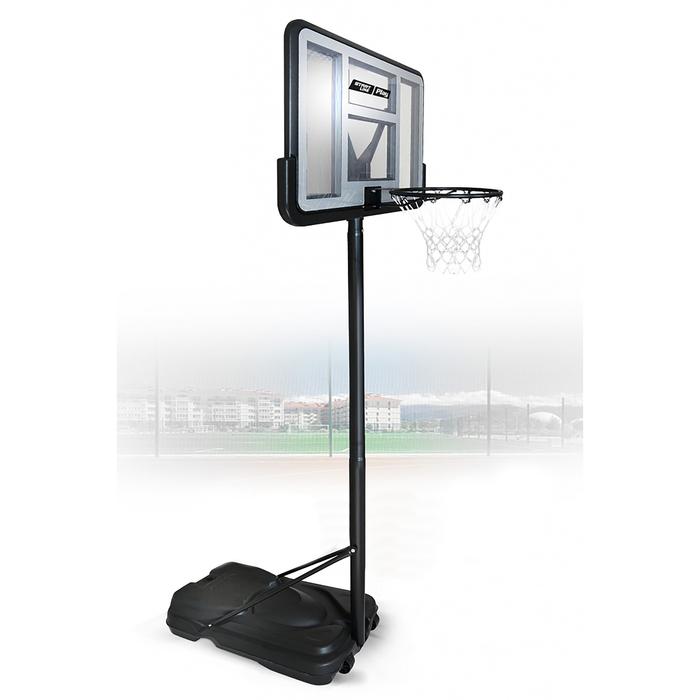 Баскетбольная стойка Standart 020 (высота 230-305 см, р-р. щита 111x76x4 см)