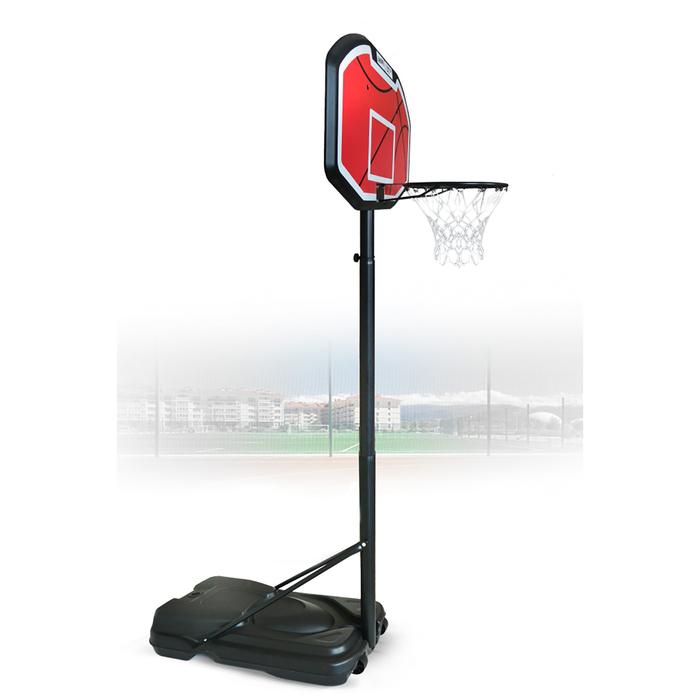 Баскетбольная стойка Standart 019 (высота 230-305 см, р-р. щита 110x76x3 см)