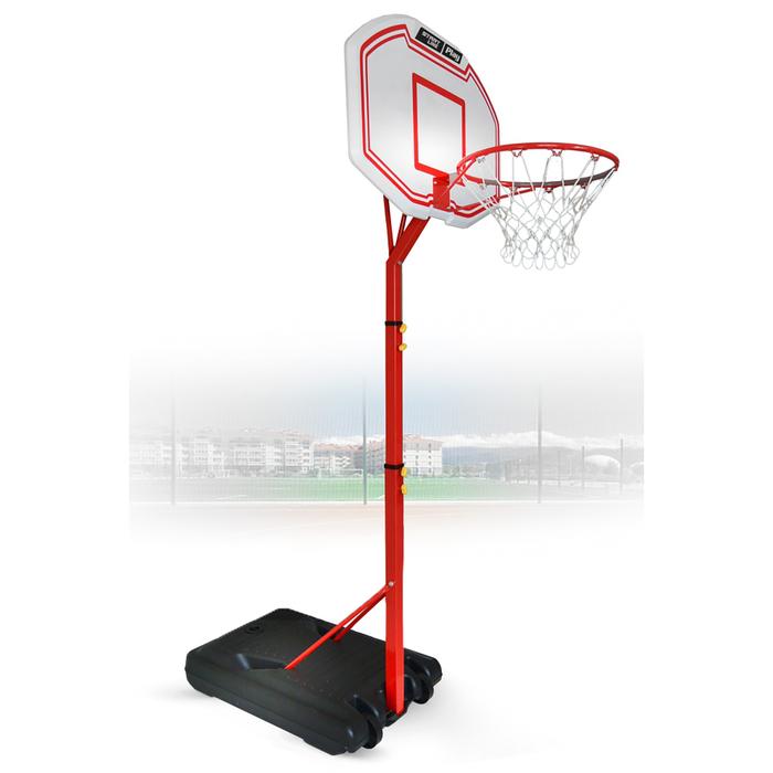 Баскетбольная стойка Junior 003 (высота 210-260 см, р-р. щита 85x60x3 см)