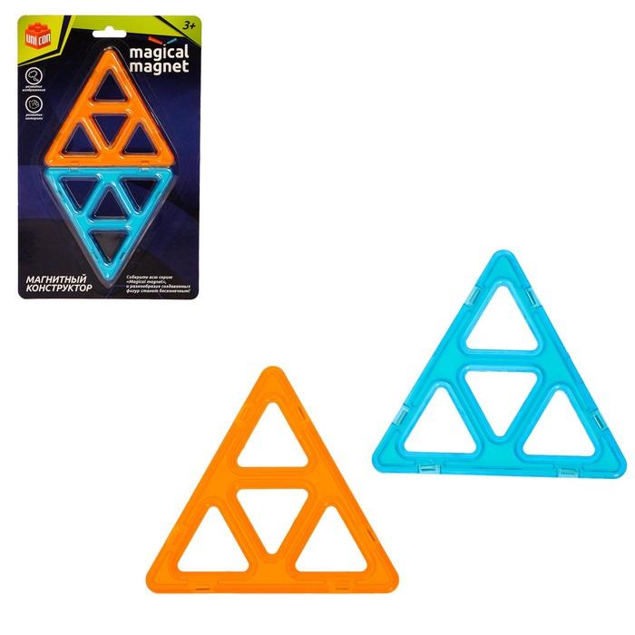Конструктор магнитный Magical Magnet, 2 детали