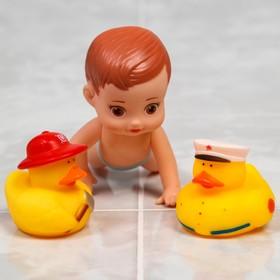Набор игрушек для купания «Малыш и его друзья», виды МИКС