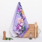 """Полотенце вафельное """"Бабочки"""", 38х60 см"""