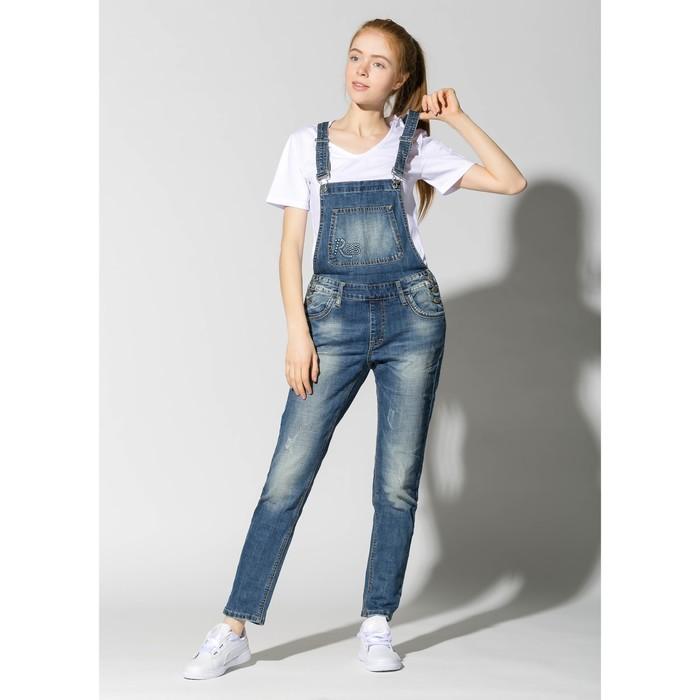 Комбинезон женский джинсовый 3037, р-р 28