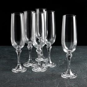 Набор бокалов для шампанского 340 мл Lord, 5 шт УЦЕНКА