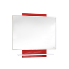 Зеркало навесное КАЛИМЕРА-90 цвет: красно-белый глянец (краска)