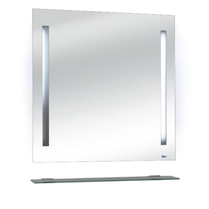 Зеркало навесное Калипсо-2 60 с подсветкой по бокам