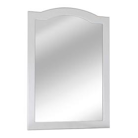 Зеркало навесное Классик 65 Цвет: белое дерево