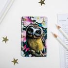 Чехол для бейджа и карточек «Сова» - фото 308684172