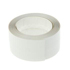 Бордюрная лента для раковин и ванн SMARTtapes, белая, 60мм х 3.35м