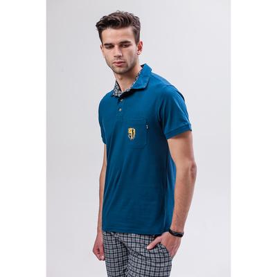 Комплект мужской (футболка, шорты) М-835-26 цвет мурена, р-р 52