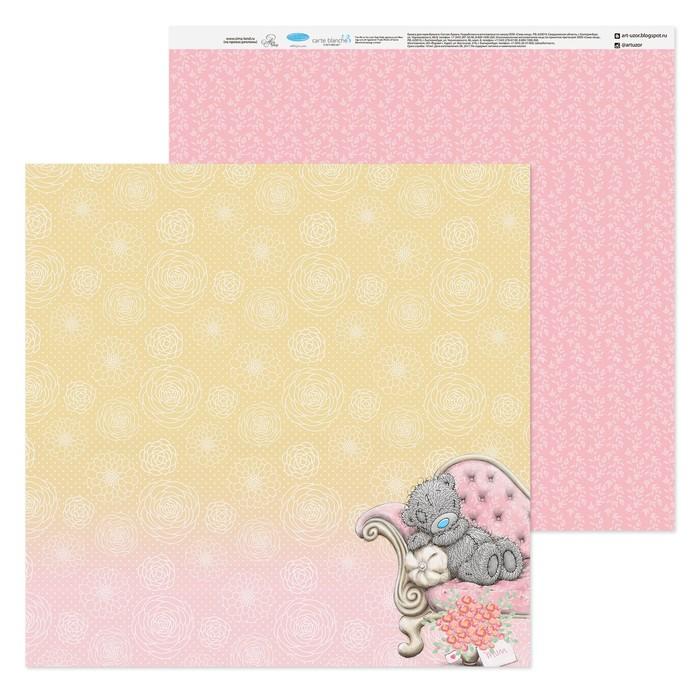Как сделать открытку из бумаги для скрапбукинга 30.5х30.5 на день рождения