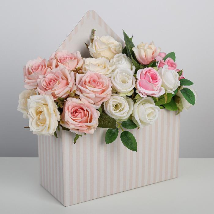Коробка–письмо «Прекрасное настроение», 25 × 33 × 10 см