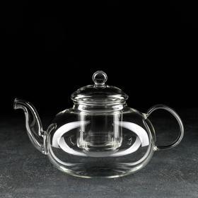 Чайник заварочный «Валенсия», 1,2 л, стеклянное сито