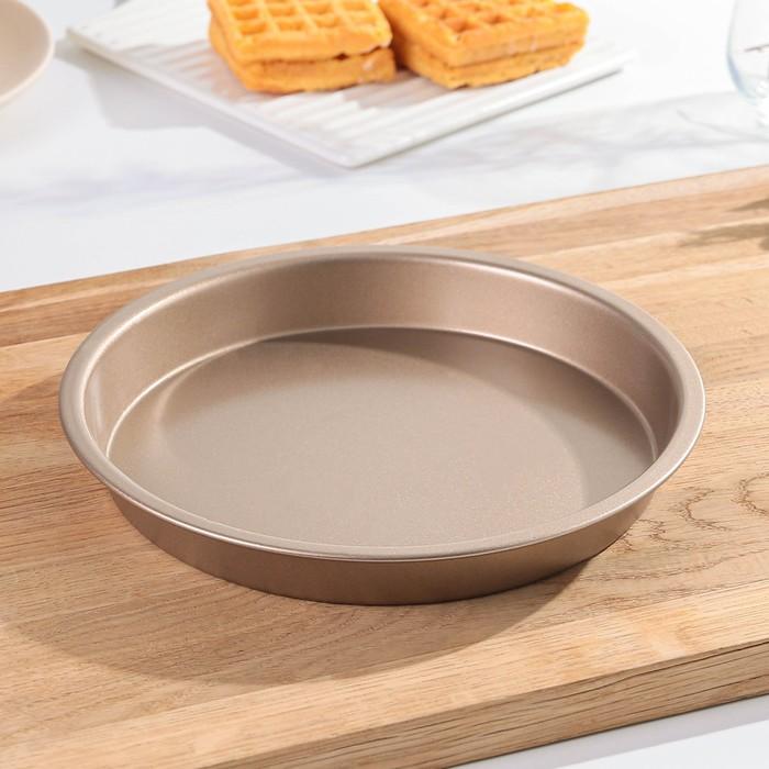 """Baking dish """"Round.Gold"""", non-stick coating"""