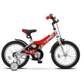 """Велосипед 16"""" Stels Jet, Z010, цвет белый/красный"""