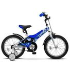 """Велосипед 16"""" Stels Jet, Z010, цвет белый/синий"""