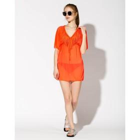 Туника женская S42345 цвет оранжевый, р-р 42-44 (S)
