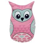 Подушка-игрушка Pink owl, размер 25х35 см