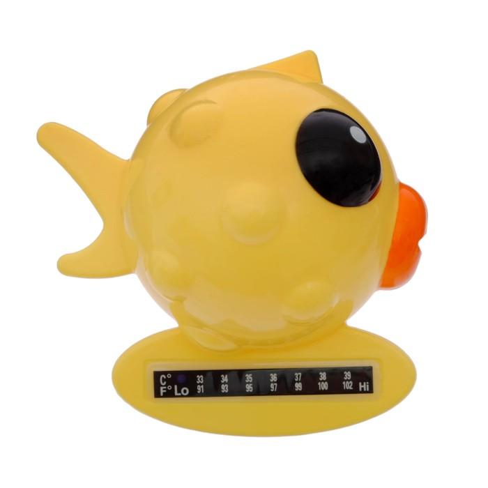 Термометр для ванной «Рыбка», цвета МИКС - фото 992138