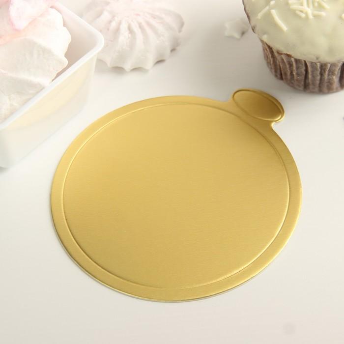 Подложка для пирожного «Золото» - фото 232660817