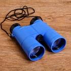 Бинокль 6х, детский, пластик, шнурок на шею, микс, 11х13 см - фото 2141557