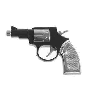 Прикол-шокер «Пистолет», с фонариком, цвет чёрный
