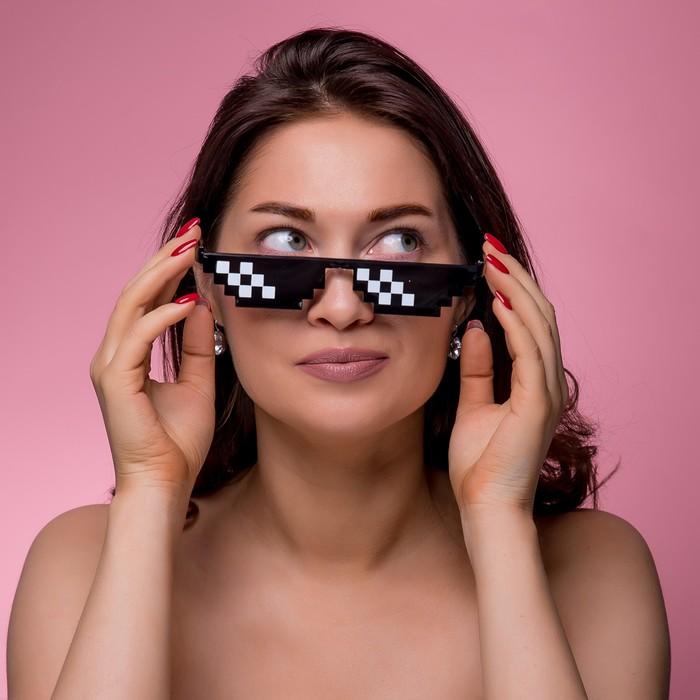 """Очки солнцезащитные """"Мастер К."""", 3 х 14.5 см"""