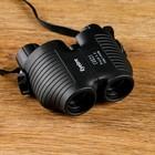 Бинокль 8х25, объёмный, чёрный, 10х4.6х9.5 см - фото 2141632