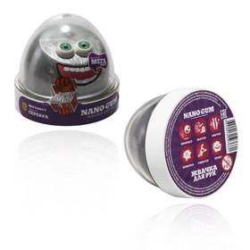 Жвачка для рук Nano gum, эффект серебра, 50 г