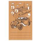 поздравительные деревянные открытки