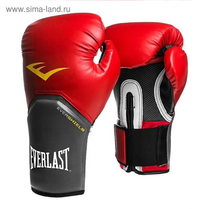 Перчатки тренировочные Pro Style Elite 10oz красный