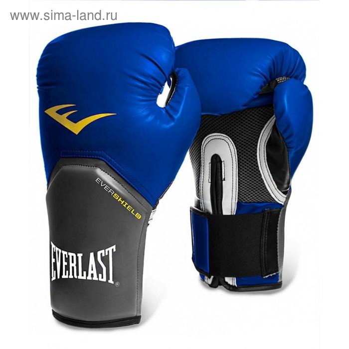 Перчатки тренировочные Pro Style Elite 8oz синий