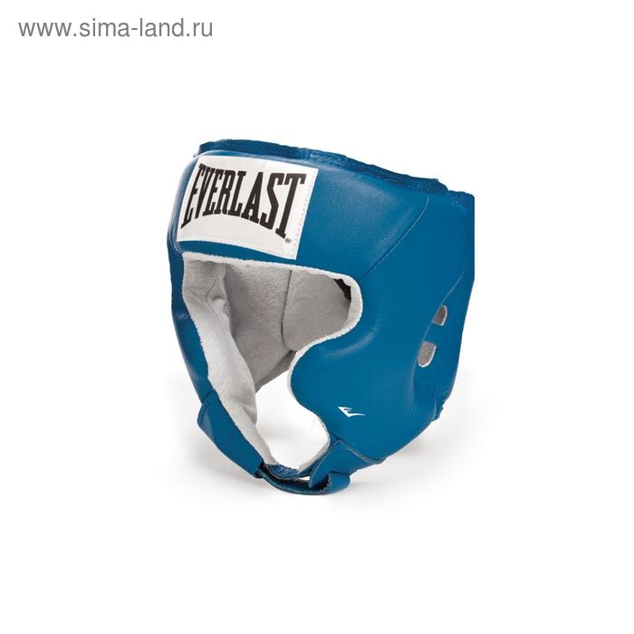Шлем Full Face, для бокса, USA Boxing Cheek, размер L, цвет синий