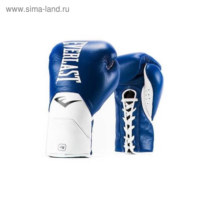 Перчатки боевые MX Elite Fight 10oz синий