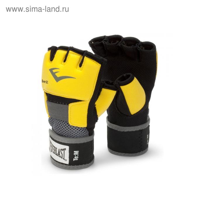 Перчатки гелевые Evergel M желтый