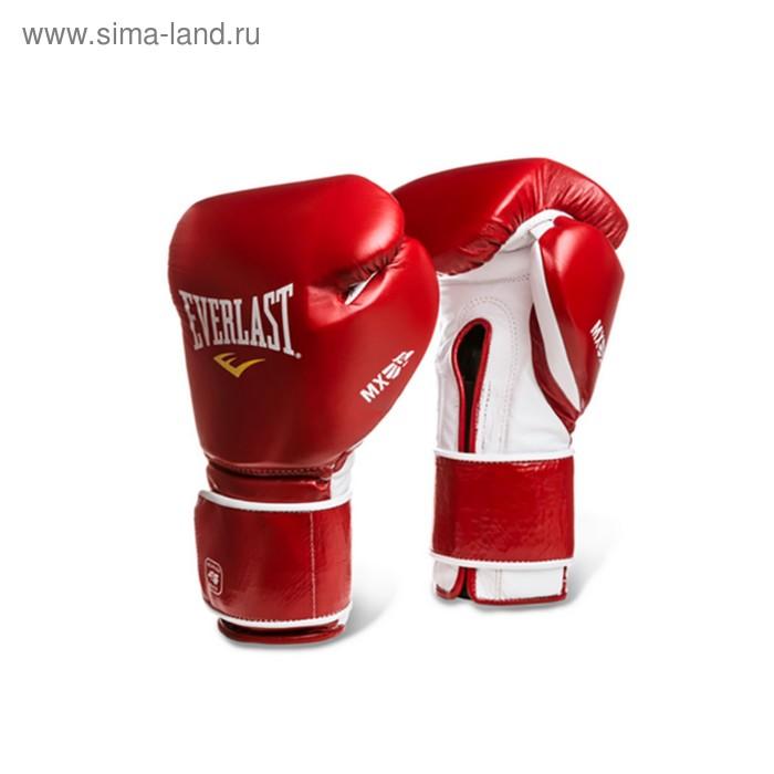 Перчатки MX Training на липучке 14oz красный